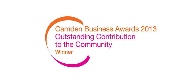 We've won! Camden Business Awards 2013