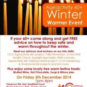 Ageactivity 60+ Winter Warmer