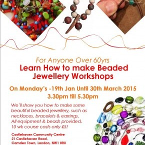 Learn how to make Beaded Jewellery Workshops