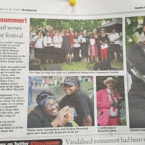 #SummerFEST2017 gets coverage in the Camden New Journal