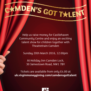 Camden's Got Talent! Holiday Inn to host talent show in aid of Castlehaven