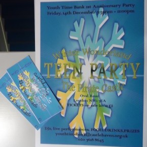 Tickets are NOW on sale for the Winter Wonderland TEEN PARTY at The Pirate's Castle!