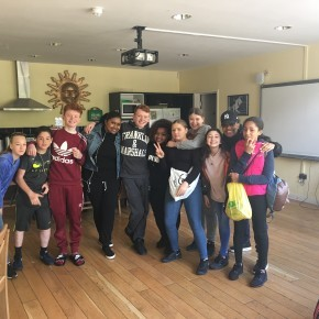Castle Youth visit Thorpe Park