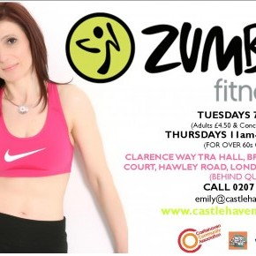 New ZUMBA Classes Start Next Week!
