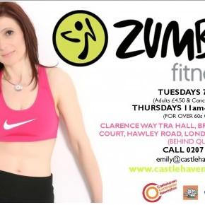 New ZUMBA Classes Start Next Week!