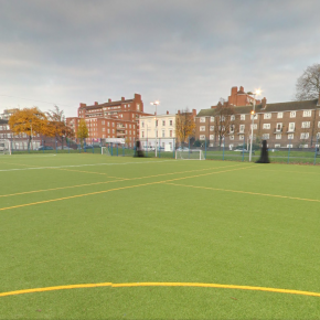 360° Google Tour of our Football Pitch