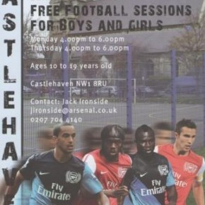 Arsenal Kickz Sessions at Castlehaven Community Association