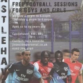 Arsenal Kickz Sessions at Castlehaven Community Association