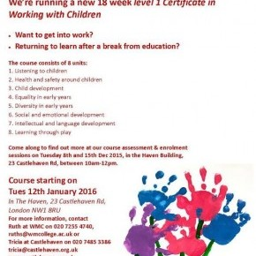 Free Childcare Course
