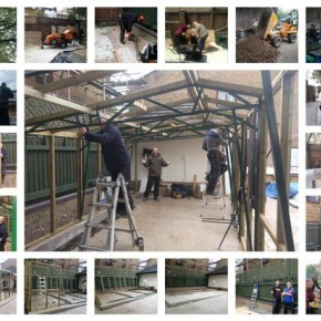 New greenhouse goes up in Horticultural Hub