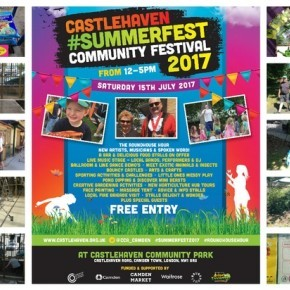 Preparing for the Castlehaven Summer Festival