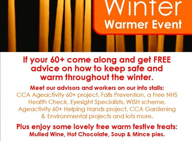 Ageactivity 60+ Winter Warmer