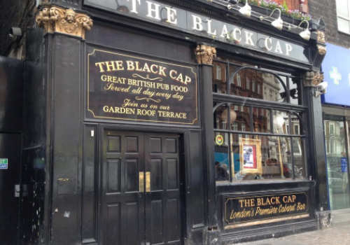 We Are The Black Cap Exhibition