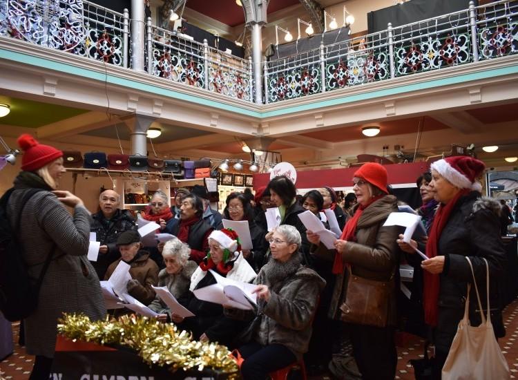 Ageactivity 60+ fundraiser at Camden Market