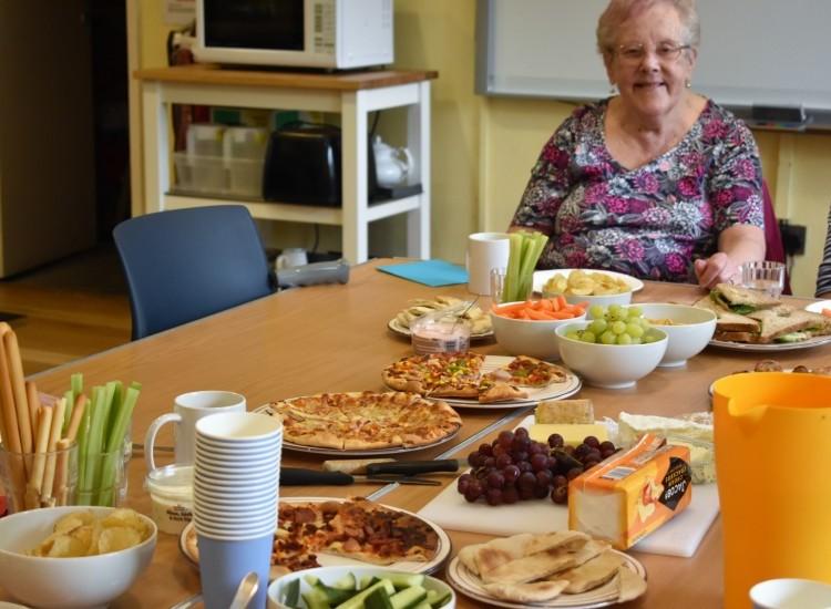 Ageactivity throw a birthday party