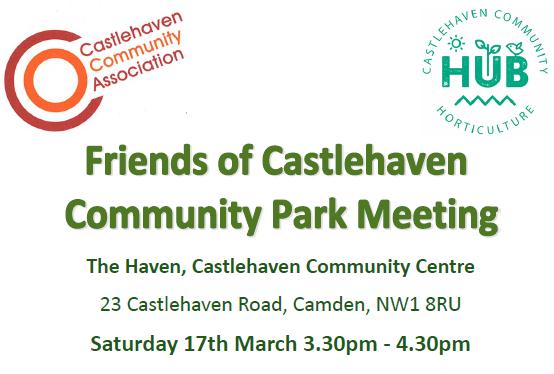 Friends of Castlehaven Community Park Meeting