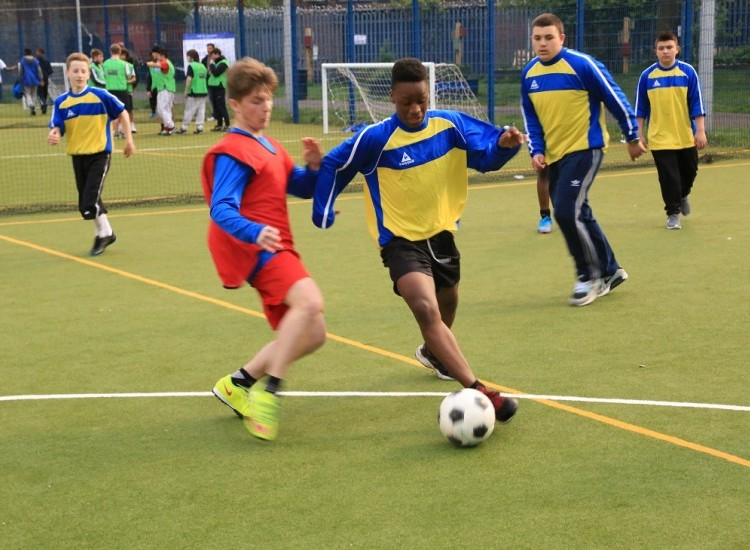Free Football sessions with Arsenal