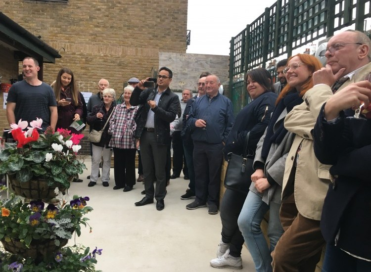Grand opening of the Horticultural Hub