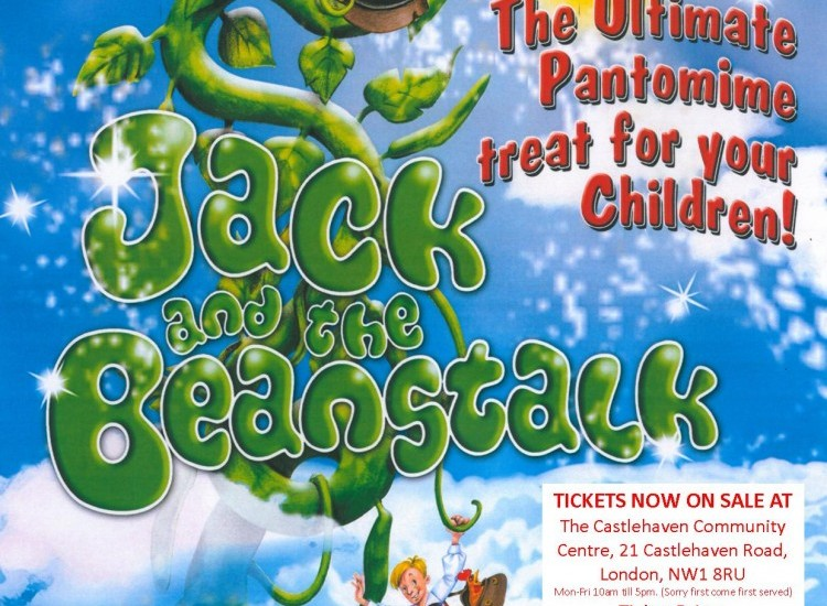 Jack and the Beanstalk Panto Tickets Now On Sale!