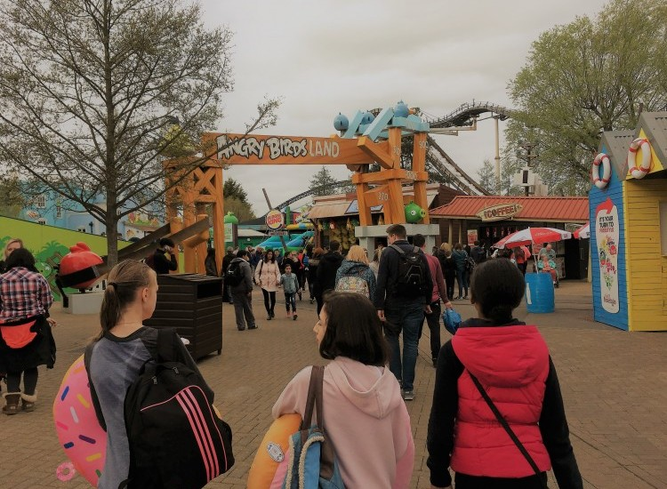 Pre-Easter fun at Thorpe Park