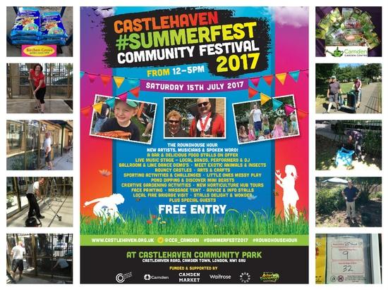 Preparing for the Castlehaven Summer Festival