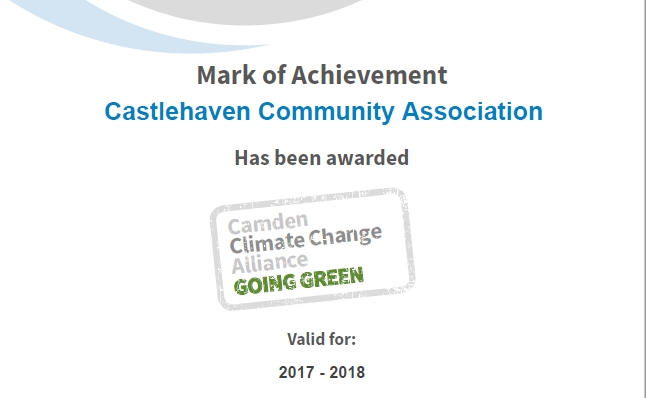CCA gets Carbon Certification Award 2017-18