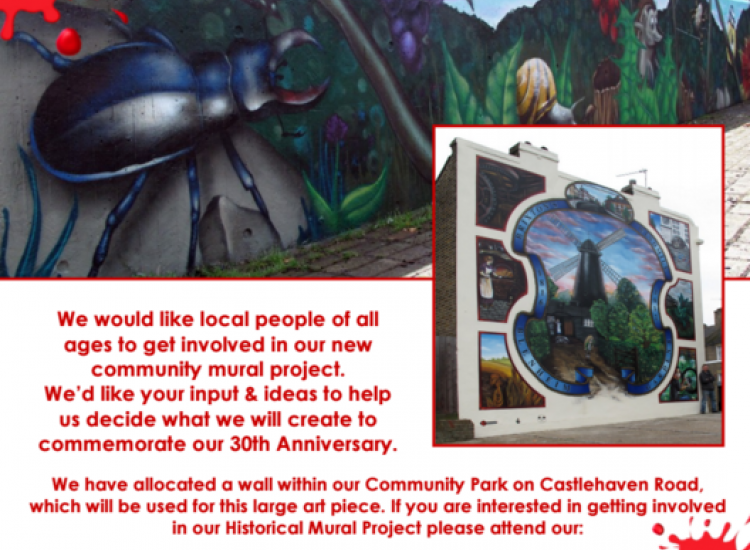 Be a part of Castlehaven History - Mural Project