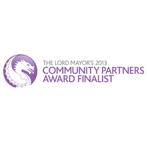 We're amongst The 2013 Lord Mayor's Dragon Awards finalists!